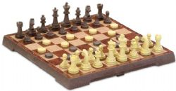 CHESS -  2 IN 1 GAME (CHECKERS, CHESS) MAGNETIC