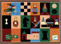 CHESS -  CHESS AND CHECKERS