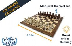 CHESS -  MEDIEVAL CHESS SET (15