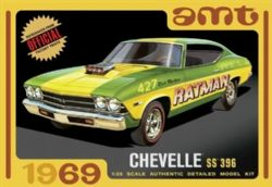 CHEVROLET -  CHEVY CHEVELLE SS 1/25 (MODERATE)
