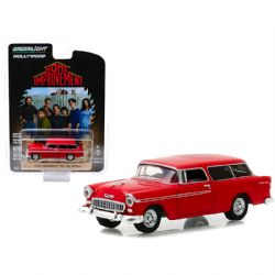 CHEVROLET -  HOME IMPROVEMENT 1955 CHEVROLET BEL AIR NOMAD 1/64 - GREY -  HOLLYWOOD SERIES 23