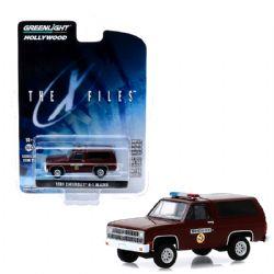 CHEVROLET -  THE X-FILES 1981 CHEVROLET K-5 BLAZER 1/64 -  HOLLYWOOD SERIES 25