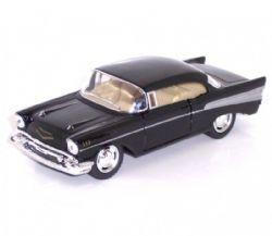 CHEVY -  1957 BEL AIR 1/40 - BLACK
