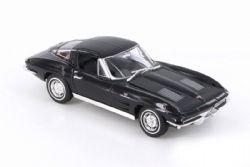 CHEVY -  1963 CORVETTE 1/24 - BLACK