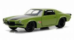 CHEVY -  1973 CHEVY CAMARO 1/32 - GREEN -  FAST AND FURIOUS