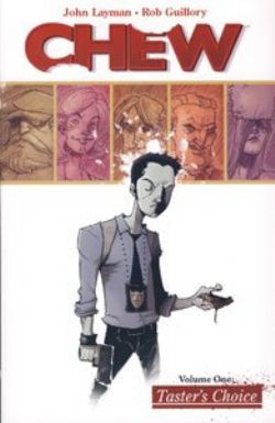 CHEW -  USED BOOKS - TOMES 1 TO 4 (ENGLISH)