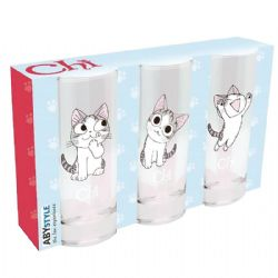 CHI'S SWEET HOME -  3 GLASSES SET