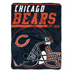 CHICAGO BEARS -  SUPER SOFT THROW (46