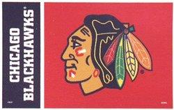 CHICAGO BLACKHAWKS -  3' X 5' VERTICAL FLAG