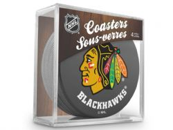 CHICAGO BLACKHAWKS -  4-PACK COASTER SET