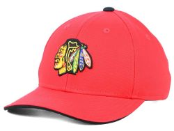 CHICAGO BLACKHAWKS -  LOGO ADJUSTABLE CAP - RED (KIDS)