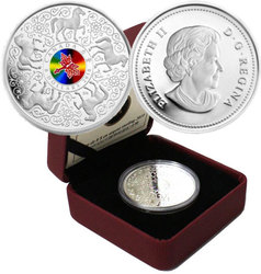 CHINESE HISTORY AND TRADITIONS -  MAPLE OF STRENGTH -  2010 CANADIAN COINS 02