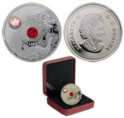 CHINESE HISTORY AND TRADITIONS -  MAPLE OF WISDOM -  2009 CANADIAN COINS 01