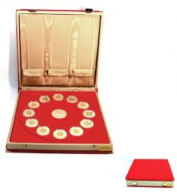 CHINESE LUNAR CALENDAR -  COMPLETE COLLECTION OF 12 COINS AND MEDALLION -  1998-2009 CANADIAN COINS