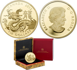 CHINESE LUNAR CALENDAR -  YEAR OF THE DRAGON -  2012 CANADIAN COINS 03