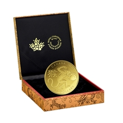 CHINESE LUNAR CALENDAR -  YEAR OF THE MONKEY -  2016 CANADIAN COINS 07