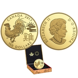 CHINESE LUNAR CALENDAR -  YEAR OF THE ROOSTER -  2017 CANADIAN COINS 08