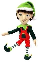 CHRISTMAS -  ARTICULATED ELF PLUSH - GADGET (14