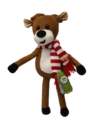 CHRISTMAS -  ARTICULATED REINDEER PLUSH - FLYNN THE FLYING REINDEER (14