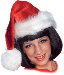 CHRISTMAS -  DELUXE SANTA HAT -  SANTA CLAUS