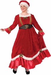 CHRISTMAS -  MRS. CLAUS COSTUME (ADULTE - LARGE 18-22)