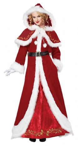 CHRISTMAS -  MRS. CLAUS DELUXE COSTUME (ADULT)