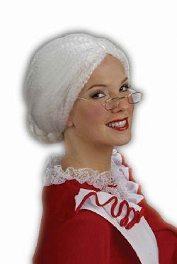 CHRISTMAS -  MRS.SANTA WIG -  SANTA CLAUS