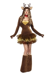 CHRISTMAS -  REINDEER COSTUME (WOMAN)