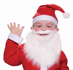 CHRISTMAS -  SANTA BEARD (CHILD) -  SANTA CLAUS