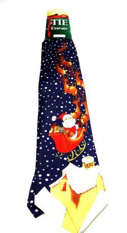 CHRISTMAS -  SANTA'S SLED CHRISTMAS TIE