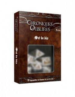 CHRONIQUES OUBLIÉES : FANTASY -  DICE SET