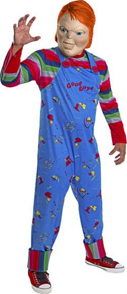 CHUCKY -  CHUCKY COSTUME (ADULT) -  CHILD'S PLAY