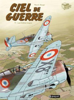 CIEL DE GUERRE -  USED - LES DIABLES ROUGES (FRENCH VERSION) 01