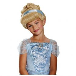 CINDERELLA -  CINDERELLA DELUXE WIG - BLOND (CHILD) -  DISNEY'S PRINCESSES
