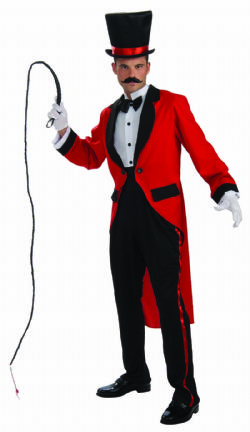 CIRCUS -  RING MASTER COSTUME (ADULT - ONE SIZE)