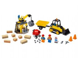 CITY -  CONSTRUCTION BULLDOZER (126 PIECES) 60252