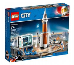 CITY -  DEEP SPACE ROCKET AND LAUNCH CONTROL (837 PIECES) 60228