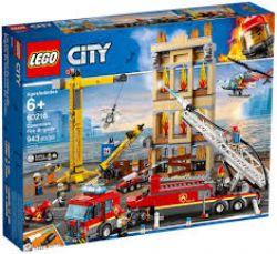 CITY -  DOWNTOWN FIRE BRIGADE (943 PIECES) 60216