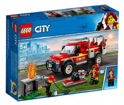 CITY -  FIRE CHIEF RESPONSE TRUCK (201 PIECES) 60231