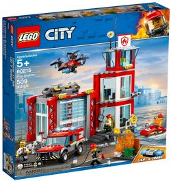 CITY -  FIRE STATION (509 PIECES) 60215