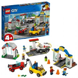 CITY -  GARAGE CENTER (234 PIECES) 60232