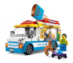 CITY -  ICE-CREAM TRUCK (200 PIECES) 60253