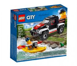 CITY -  KAYAK ADVENTURE (84 PIECES) 60240