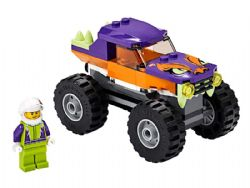 CITY -  MONSTER TRUCK (55 PIECES) 60251