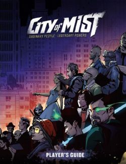 CITY OF MIST -  PLAYER'S GUIDE (ENGLISH)