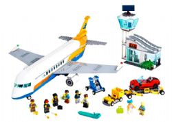 CITY -  PASSENGER AIRPLANE (669 PIECES) 60262