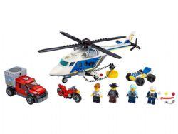 CITY -  POLICE HELICOPTER CHASE (212 PIECES) 60243