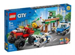 CITY -  POLICE MONSTER TRUCK HEIST (362 PIECES) 60245
