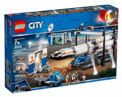 CITY -  ROCKET ASSEMBLY & TRANSPORT (1055 PIECES) 60229