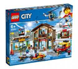 CITY -  SKI RESORT (806 PIECES) 60203